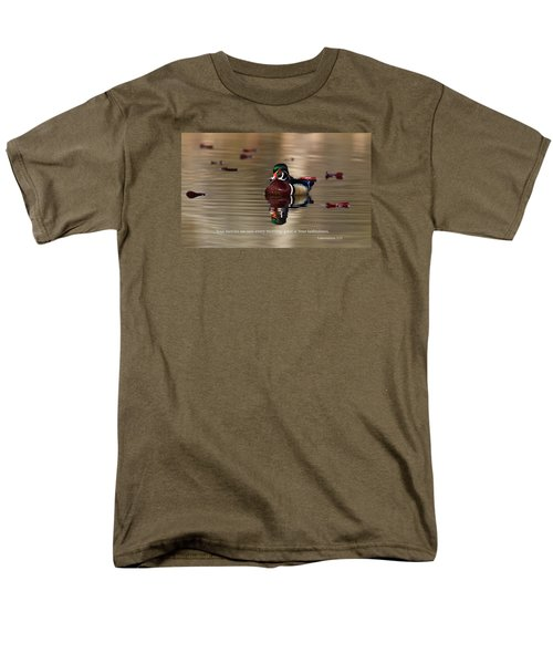 Men's T-Shirt  (Regular Fit) featuring the photograph Every Morning by Lynn Hopwood