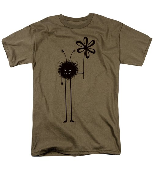 Evil Flower Bug Men's T-Shirt  (Regular Fit) by Boriana Giormova