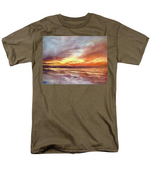 Explosion Of Light Men's T-Shirt  (Regular Fit) by Valerie Travers