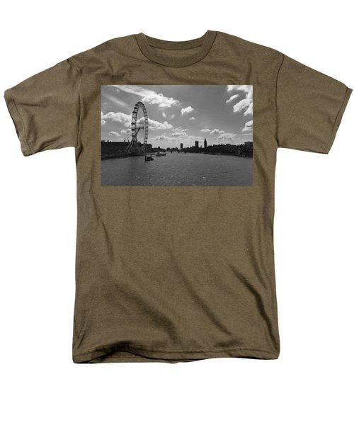 Eye And Parliament Men's T-Shirt  (Regular Fit) by Maj Seda