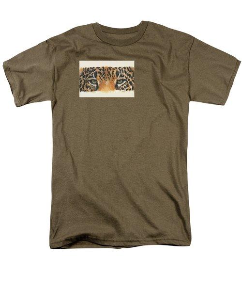 Eye-catching Jaguar Men's T-Shirt  (Regular Fit) by Barbara Keith