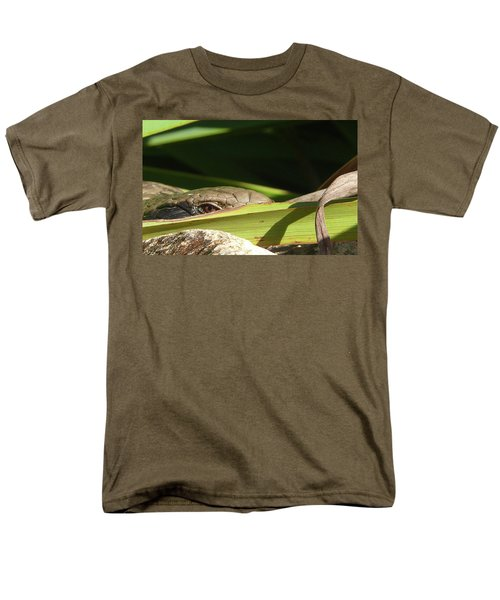 Eye Contact Men's T-Shirt  (Regular Fit) by Evelyn Tambour