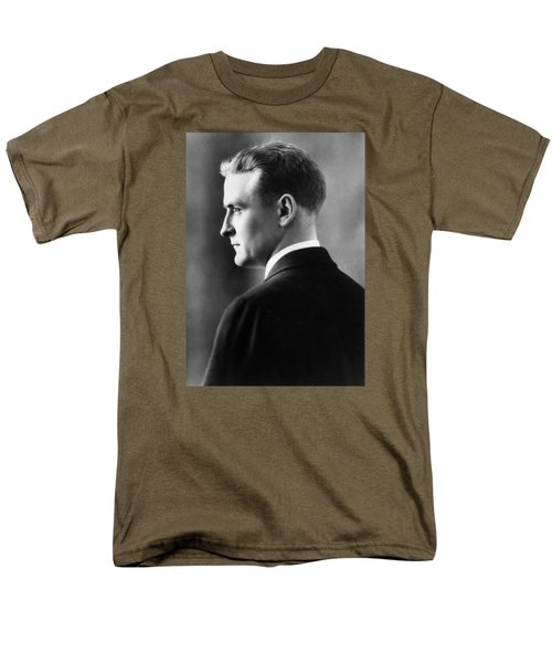 F. Scott Fitzgerald Circa 1925 Men's T-Shirt  (Regular Fit) by David Lee Guss