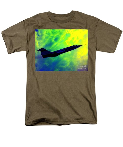 F104 In Clouds - 2 Men's T-Shirt  (Regular Fit) by Greg Moores