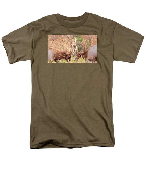 Face Off Men's T-Shirt  (Regular Fit) by Todd Kreuter
