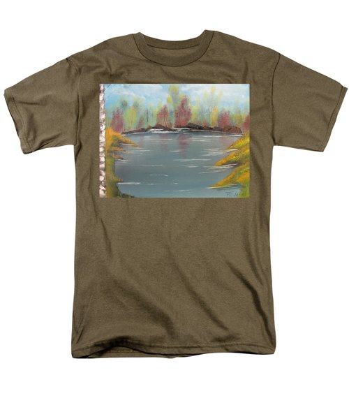 Fall Colors Men's T-Shirt  (Regular Fit) by Thomas Janos