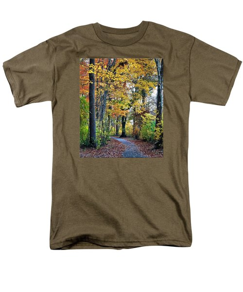 Fall Foliage Men's T-Shirt  (Regular Fit) by Mikki Cucuzzo