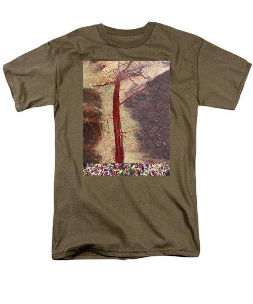 Fall Men's T-Shirt  (Regular Fit) by Haleh Mahbod