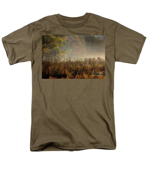 Men's T-Shirt  (Regular Fit) featuring the photograph Fall In Cades Cove by Douglas Stucky