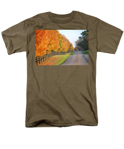 Fall In Horse Farm Country Men's T-Shirt  (Regular Fit) by Sumoflam Photography
