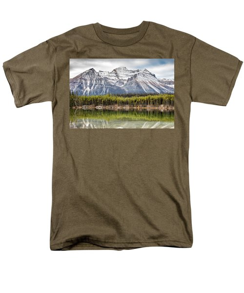 Fall In The Canadian Rockies Men's T-Shirt  (Regular Fit) by Pierre Leclerc Photography