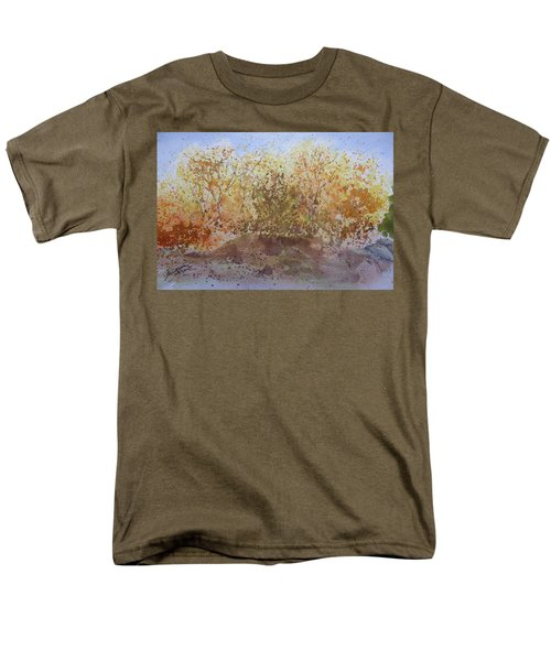 Fall In The Tejas High Country Men's T-Shirt  (Regular Fit) by Joel Deutsch