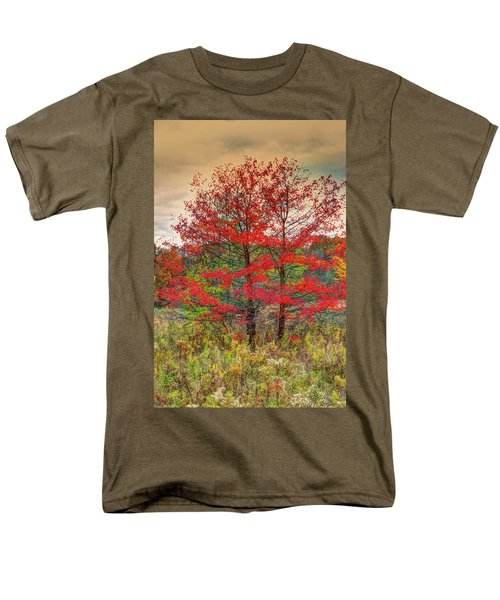Fall Painting Men's T-Shirt  (Regular Fit) by Skip Tribby