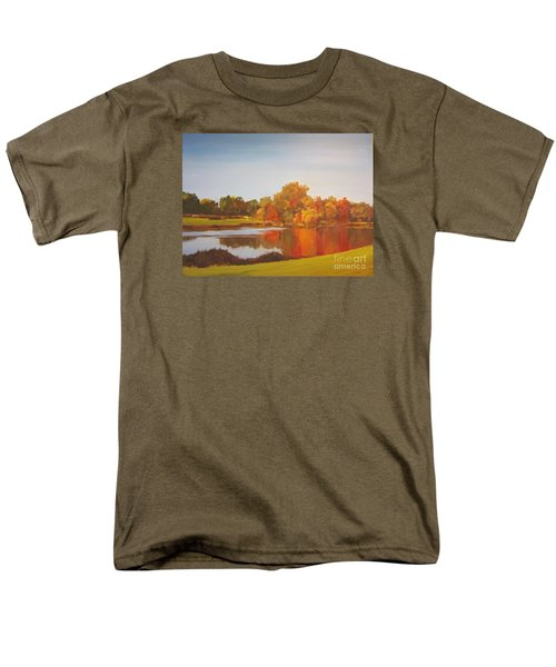 Men's T-Shirt  (Regular Fit) featuring the painting Fall Perfection by Elizabeth Carr
