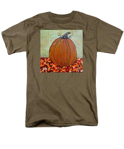 Fall Pumpkin Men's T-Shirt  (Regular Fit)