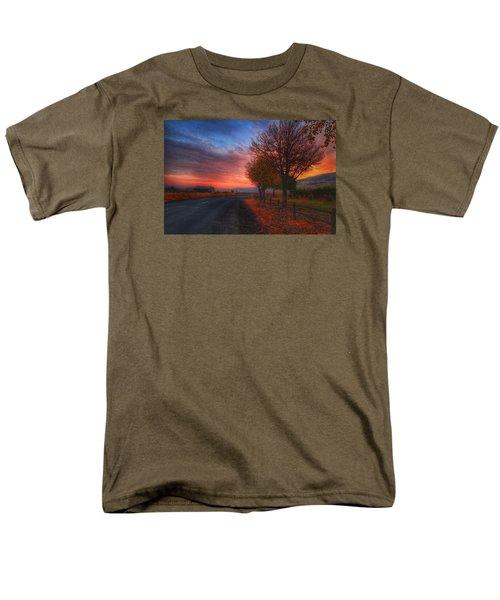 Fall Sunrise Men's T-Shirt  (Regular Fit) by Lynn Hopwood
