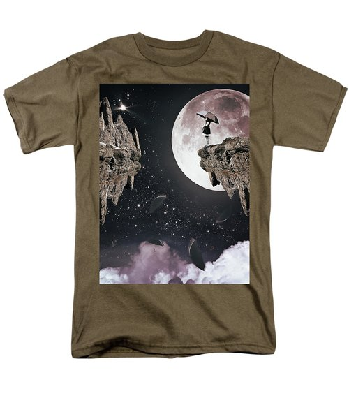 Falling Men's T-Shirt  (Regular Fit) by Mihaela Pater