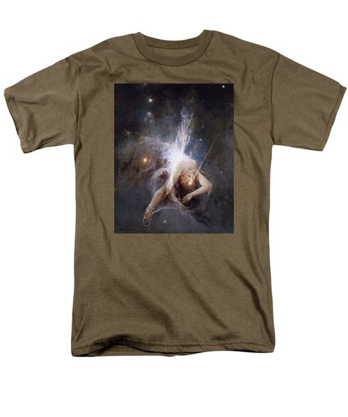 Falling Star Men's T-Shirt  (Regular Fit) by Witold Pruszkowski