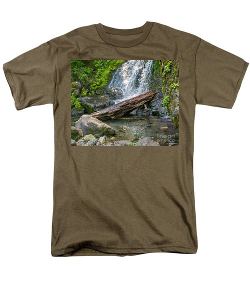 Falls Creek 0742 Men's T-Shirt  (Regular Fit) by Chuck Flewelling