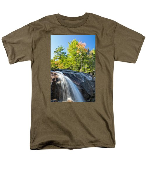 Falls Diana's Baths Nh Men's T-Shirt  (Regular Fit) by Michael Hubley