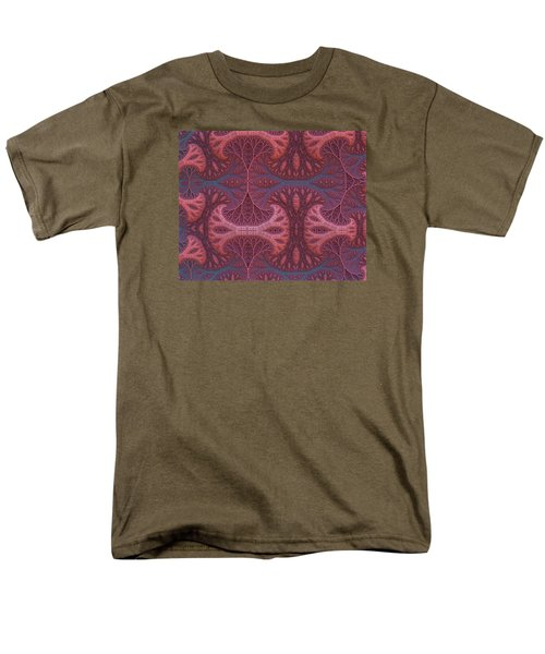 Men's T-Shirt  (Regular Fit) featuring the digital art Fantasy Forest by Lyle Hatch