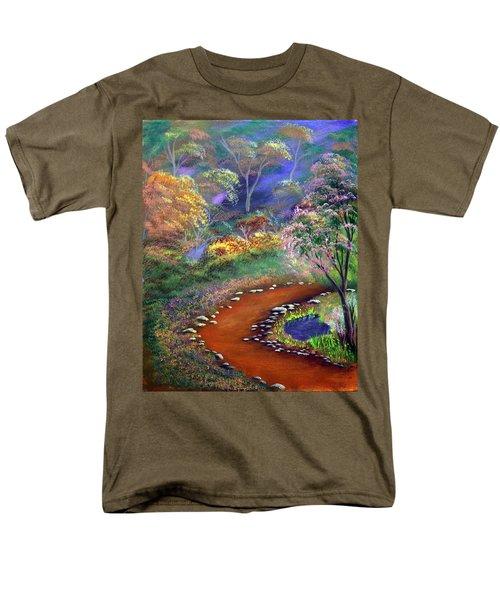 Fantasy Path Men's T-Shirt  (Regular Fit)