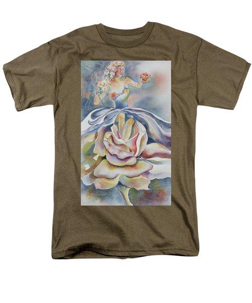 Fantasy Rose Men's T-Shirt  (Regular Fit) by Mary Haley-Rocks