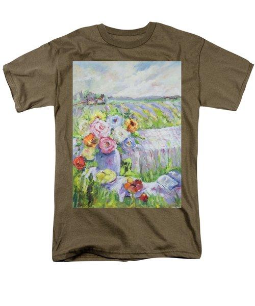 Far Away Men's T-Shirt  (Regular Fit) by Sharon Furner