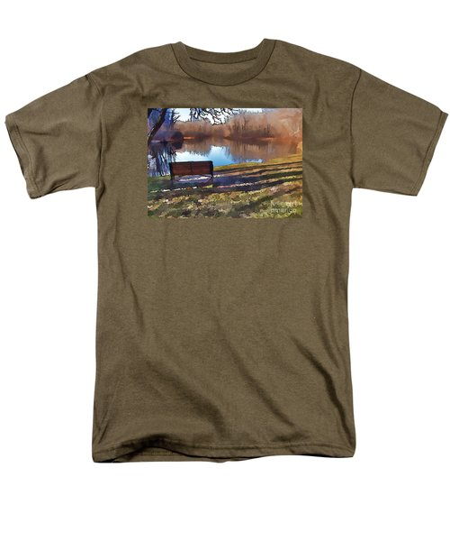 Men's T-Shirt  (Regular Fit) featuring the photograph Farewell Fishing by Betsy Zimmerli