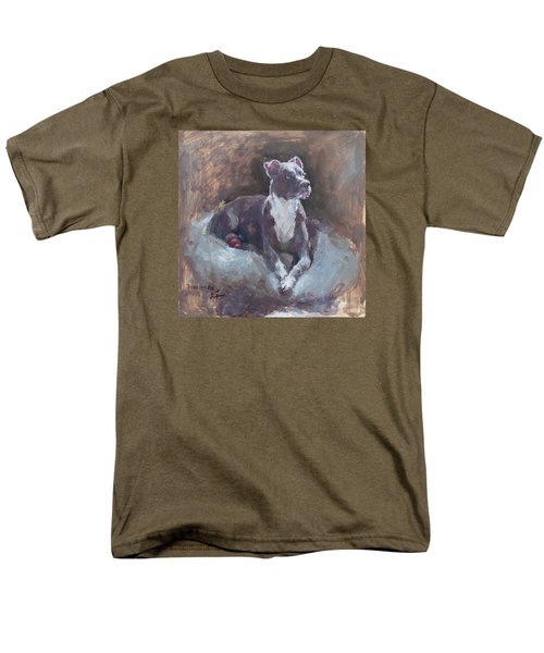 Men's T-Shirt  (Regular Fit) featuring the painting Faris 1 by Becky Kim