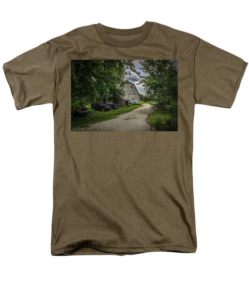 Farm Drive Men's T-Shirt  (Regular Fit) by Ray Congrove