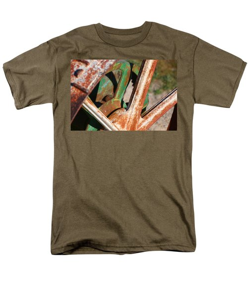 Men's T-Shirt  (Regular Fit) featuring the photograph Farm Equipment 2 by Ely Arsha