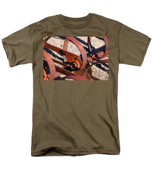 Men's T-Shirt  (Regular Fit) featuring the photograph Farm Equipment 4 by Ely Arsha