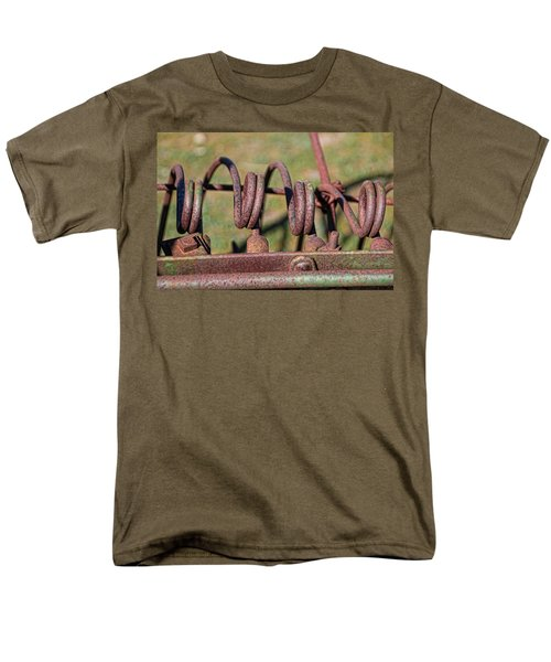 Men's T-Shirt  (Regular Fit) featuring the photograph Farm Equipment 7 by Ely Arsha