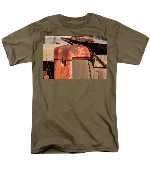 Men's T-Shirt  (Regular Fit) featuring the photograph Farm Equipment 8 by Ely Arsha