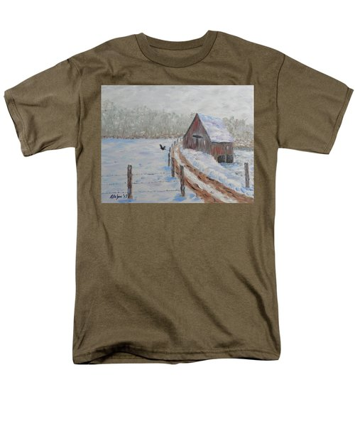 Farm Land Men's T-Shirt  (Regular Fit) by Stanton Allaben