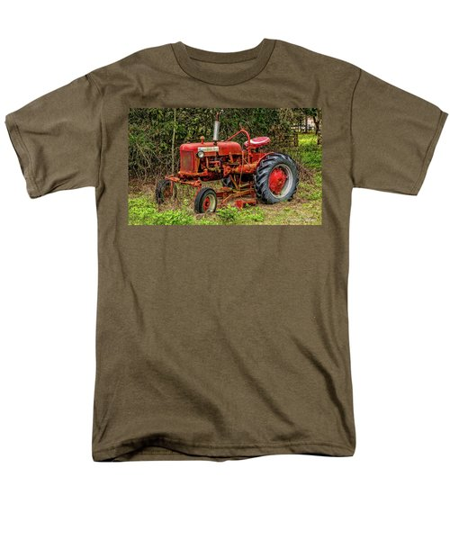 Men's T-Shirt  (Regular Fit) featuring the photograph Farmall Cub by Christopher Holmes