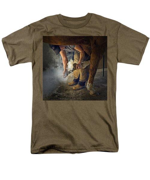 Farrier Visit - 365-46 Men's T-Shirt  (Regular Fit)