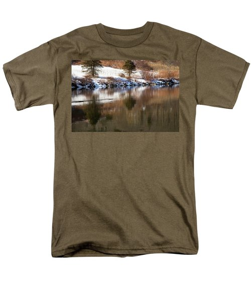 Men's T-Shirt  (Regular Fit) featuring the photograph February Reflections by Karol Livote
