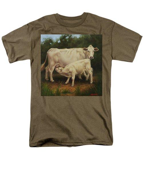 Feeding In The Forest Men's T-Shirt  (Regular Fit)