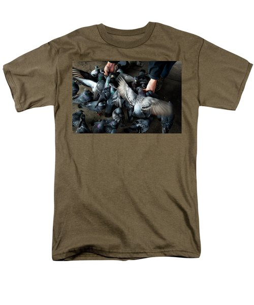 Feeding Men's T-Shirt  (Regular Fit) by James David Phenicie