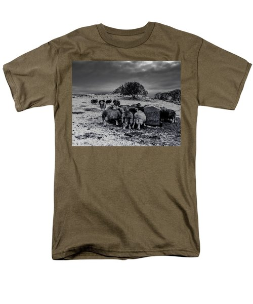 Men's T-Shirt  (Regular Fit) featuring the photograph Feeding Time by Keith Elliott