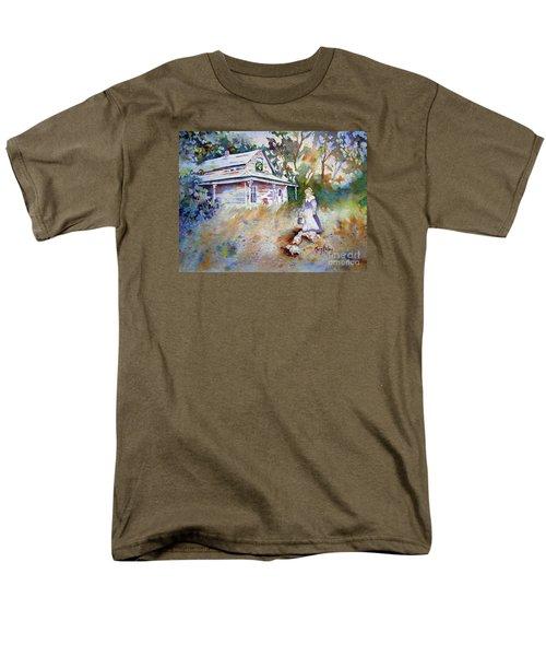 Feeding Time Men's T-Shirt  (Regular Fit) by Mary Haley-Rocks