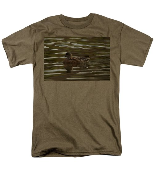 Men's T-Shirt  (Regular Fit) featuring the photograph Female Wigeon by Jeff Swan