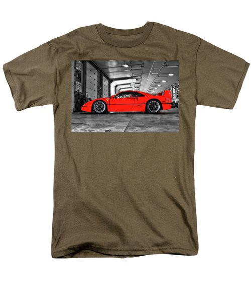 Men's T-Shirt  (Regular Fit) featuring the photograph Ferrari F40 by Joel Witmeyer