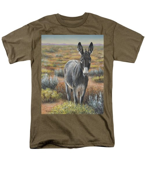 Men's T-Shirt  (Regular Fit) featuring the painting Festus by Kim Lockman