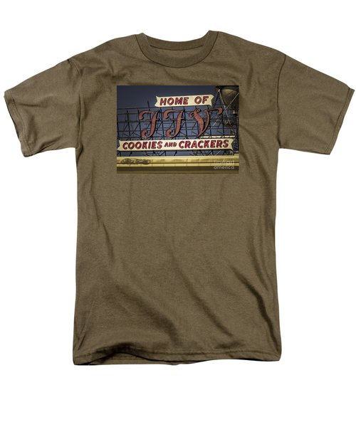 Men's T-Shirt  (Regular Fit) featuring the photograph Ffv - Cookie And Cracker Factory by Melissa Messick