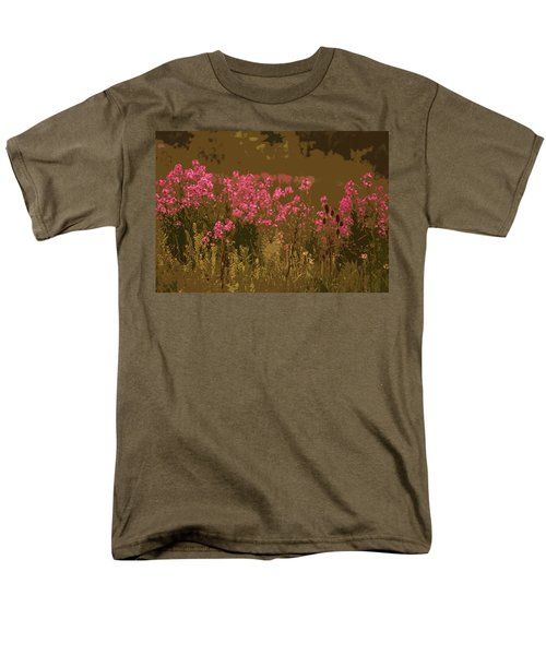 Field Of Flowers Men's T-Shirt  (Regular Fit) by Rowana Ray