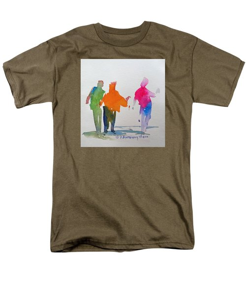 Figures In Motion  Men's T-Shirt  (Regular Fit) by P Anthony Visco