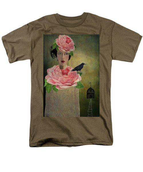 Men's T-Shirt  (Regular Fit) featuring the digital art Finding Her Way by Lisa Noneman